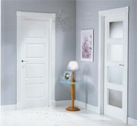 Puertas lacadas en blanco de interior o de paso puertas - Puertas blancas lacadas precios ...
