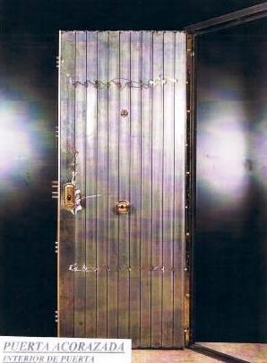 Puerta acorazada acorazadas o blindadas puertas - Puertas blindadas a medida ...