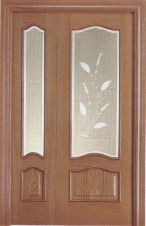 Puerta doble provenzal de interior o de paso puertas for Puertas dobles de madera