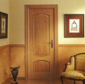 puerta de paso de interior o de paso puertas ebanisteria esteban puertas de madera frisos y parquets muebles a medida with puertas de madera interior