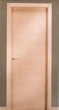 Puerta en madera de haya vaporizada de interior o de paso - Puertas haya vaporizada ...